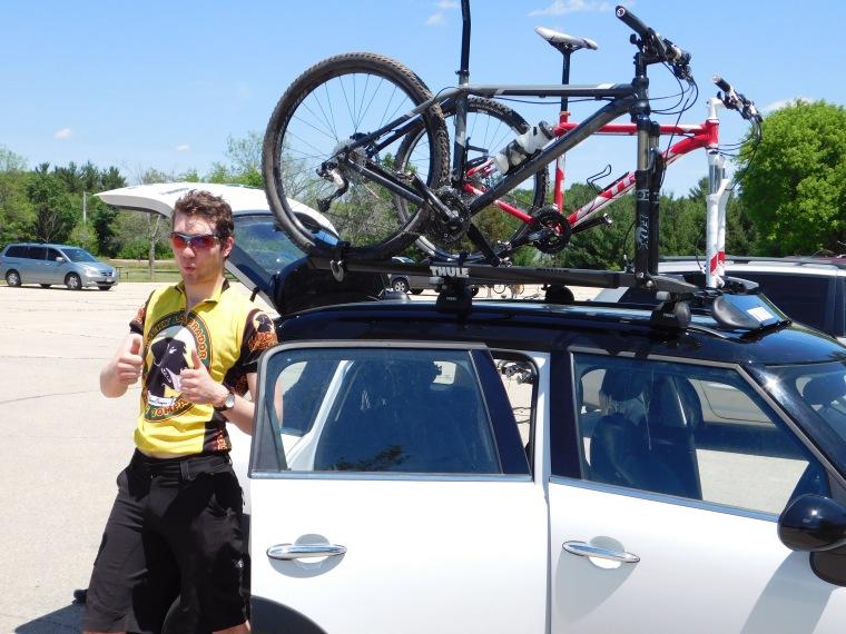 evan and mtn bikes