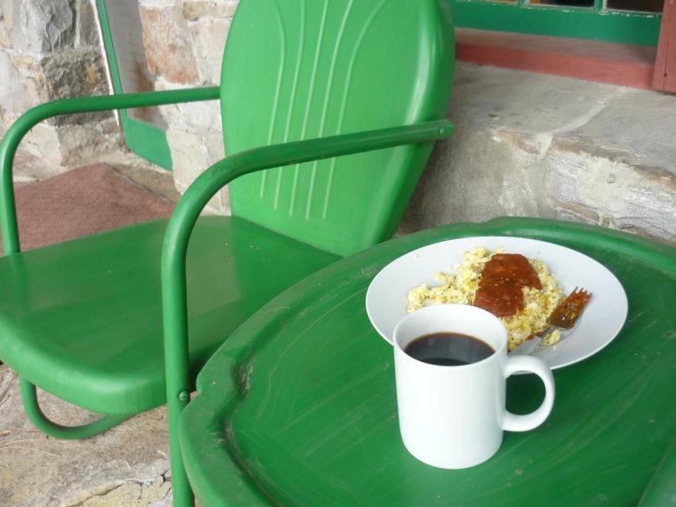 breakfast at Spirit Lake